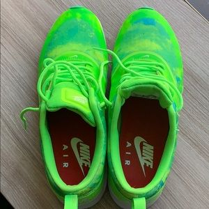 Neon green Nike women sneakers size 9.5